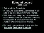 edmond locard 1877 1966
