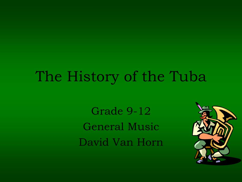 the history of the tuba l.