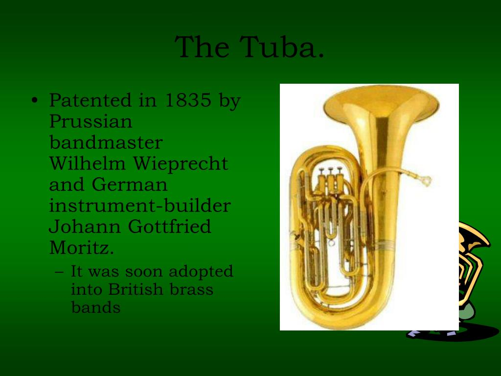 the history of the tuba family