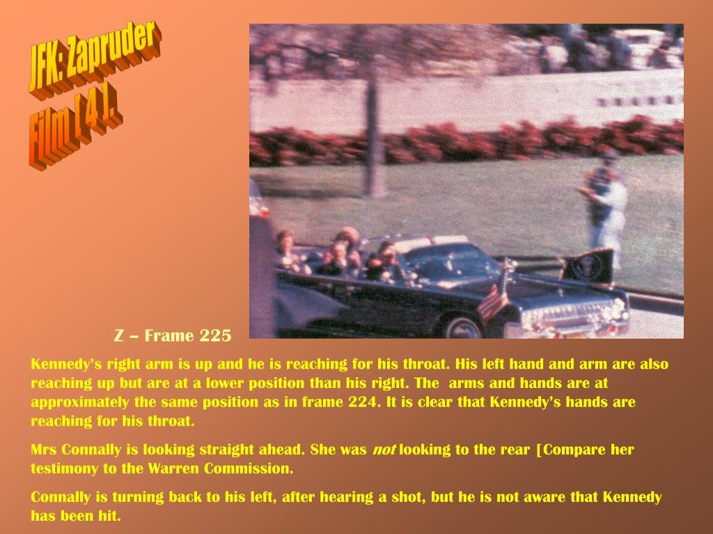 JFK: Zapruder