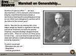 marshall on generalship