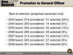 promotion to general officer