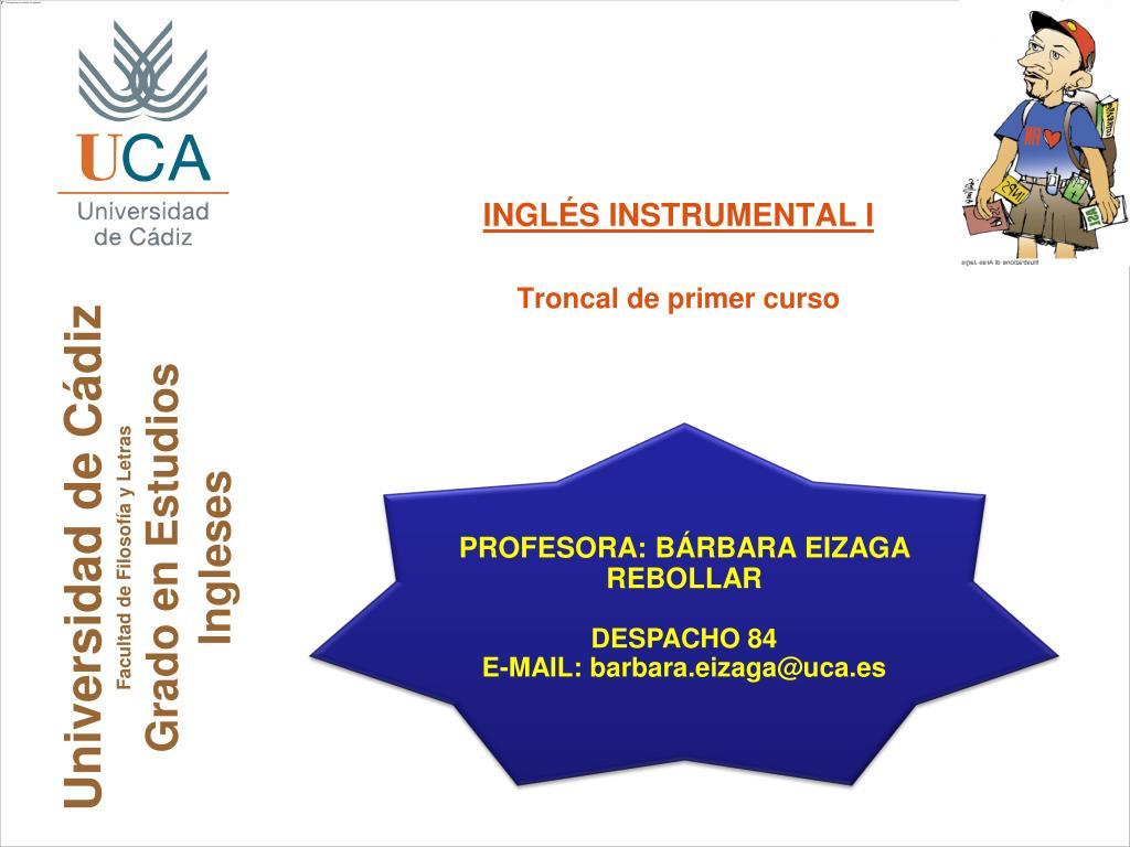 universidad de c diz facultad de filosof a y letras grado en estudios ingleses l.