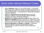 some other relevant missouri cases