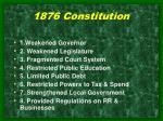 1876 constitution