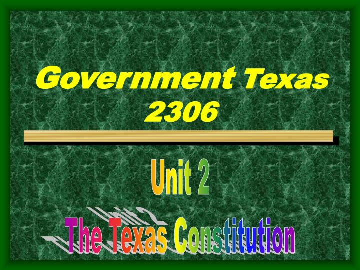 government texas 2306 n.