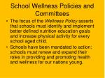 school wellness policies and committees