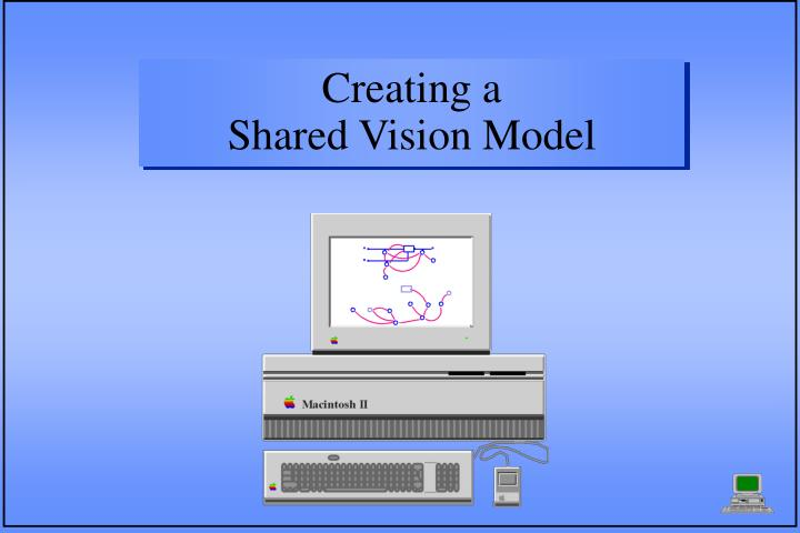 creating a shared vision model n.