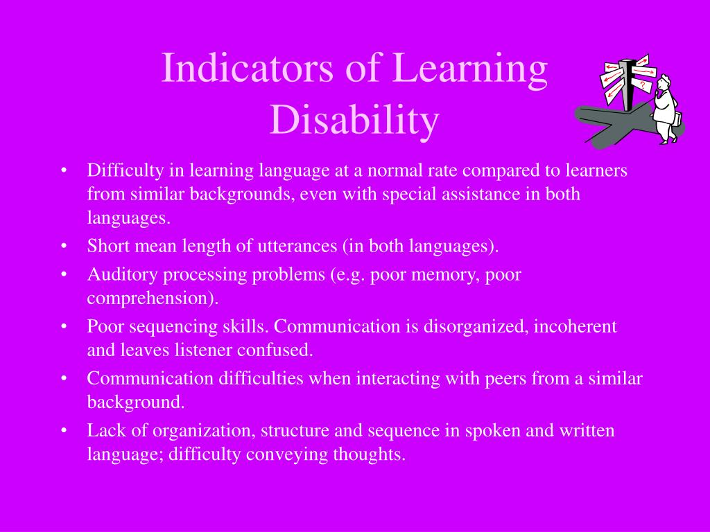 Indicators of Learning