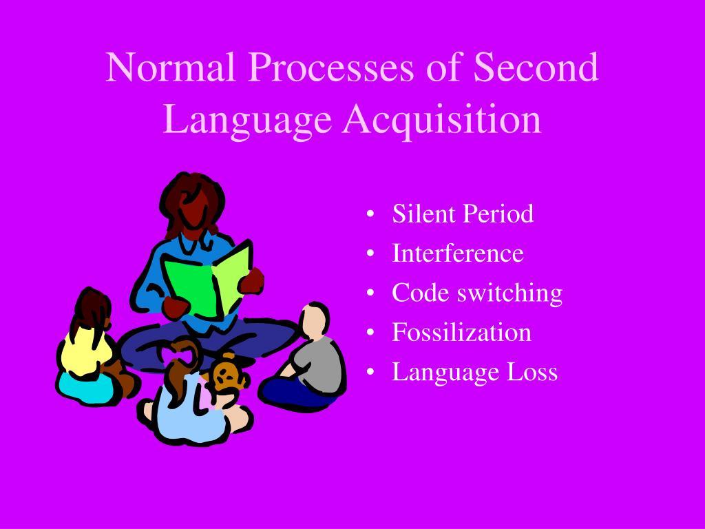 Normal Processes of Second Language Acquisition