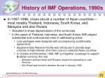 history of imf operations 1990s35