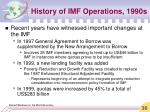 history of imf operations 1990s36