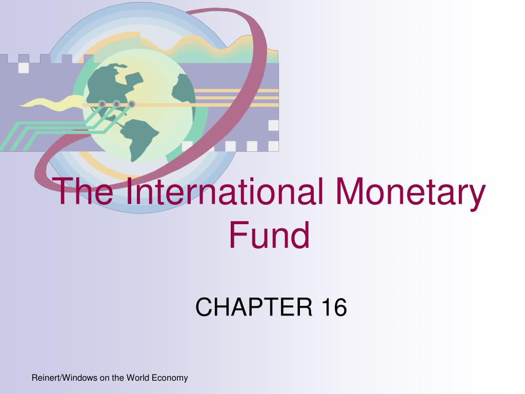 the international monetary fund l.