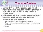 the non system16