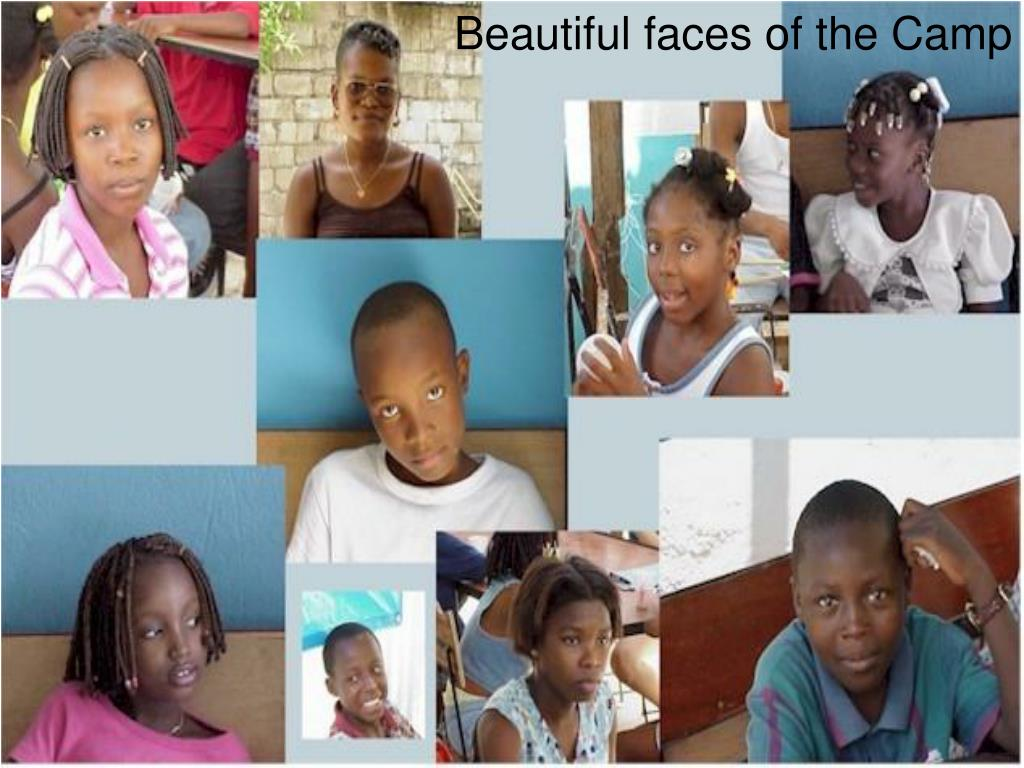 Beautiful faces of the Camp