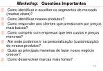 marketing quest es importantes