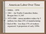 american labor over time164