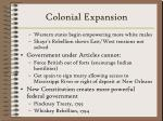 colonial expansion16