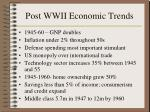 post wwii economic trends156