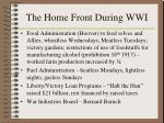 the home front during wwi167