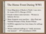 the home front during wwi169