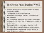 the home front during wwii173