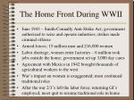 the home front during wwii174