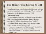 the home front during wwii175