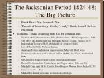 the jacksonian period 1824 48 the big picture123