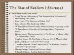 the rise of realism 1860 1914225