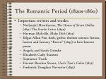 the romantic period 1820s 1860223