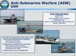 anti submarine warfare asw usv