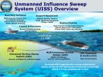 unmanned influence sweep system uiss overview