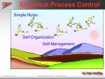empirical process control33
