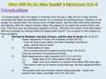 what will we be after death 2 co rinthians 5 8 9