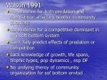 wilson 1991