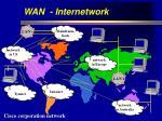 wan internetwork