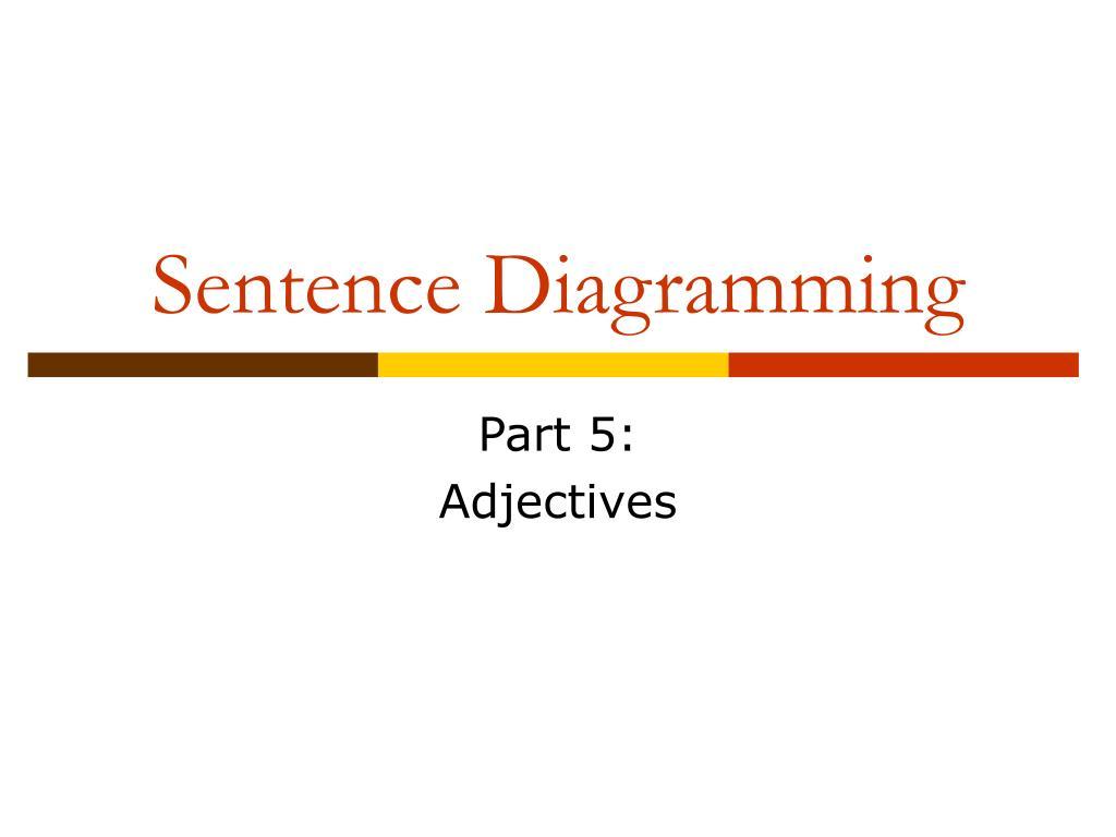 sentence diagramming l.