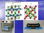 metal hydrides
