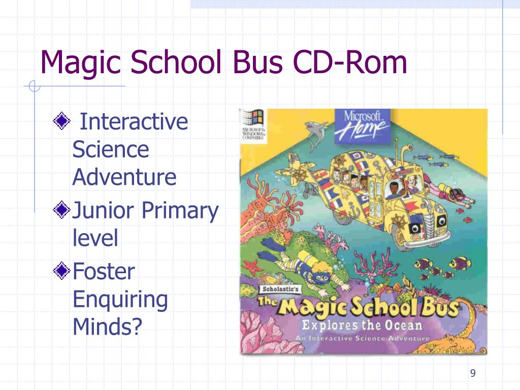Magic School Bus CD-Rom