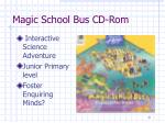 magic school bus cd rom