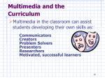 multimedia and the curriculum