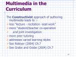 multimedia in the curriculum20