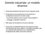 distretto industriale un modello dinamico