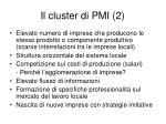 il cluster di pmi 2