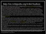 http en wikipedia org wiki audism