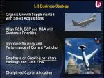 l 3 business strategy