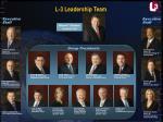 l 3 leadership team