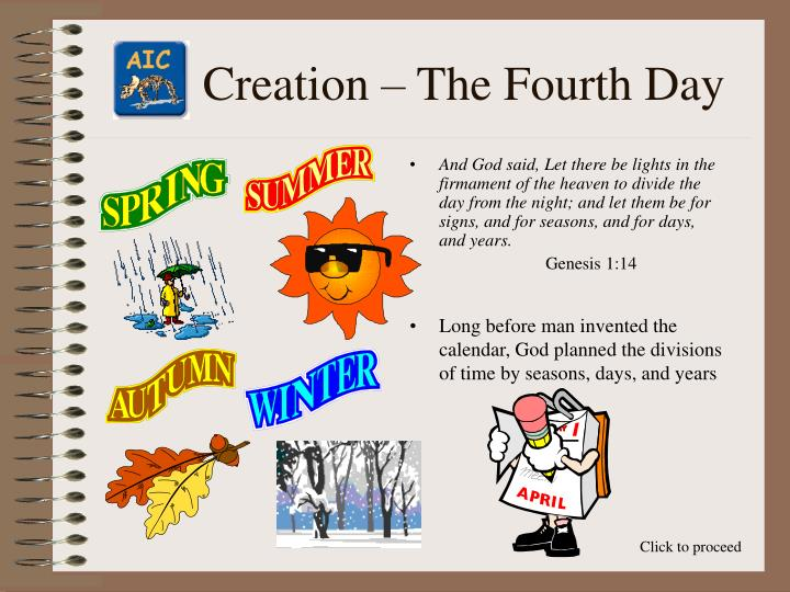 Creation the fourth day3