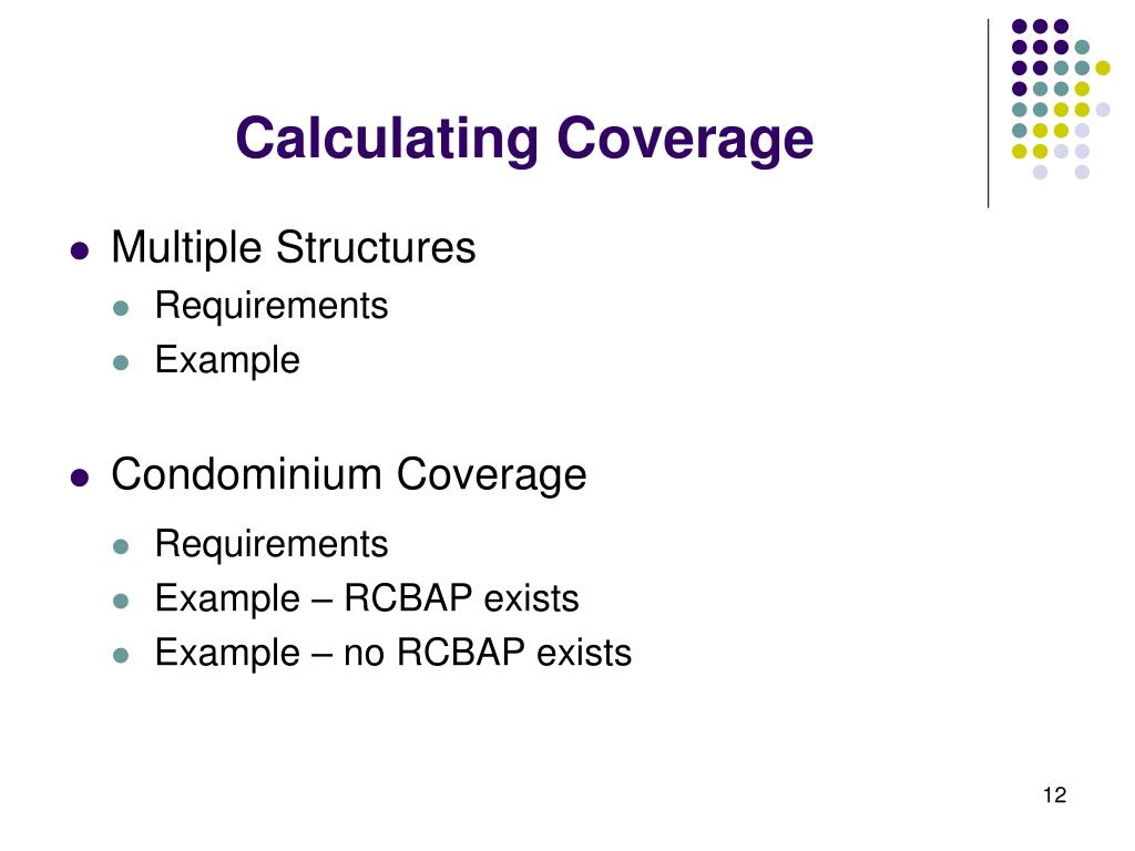 Calculating Coverage